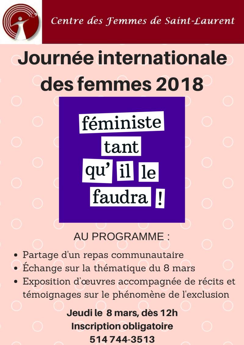 Journée internationale des femmes 2018-1