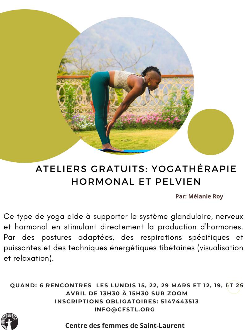 Ateliers yogatherapie