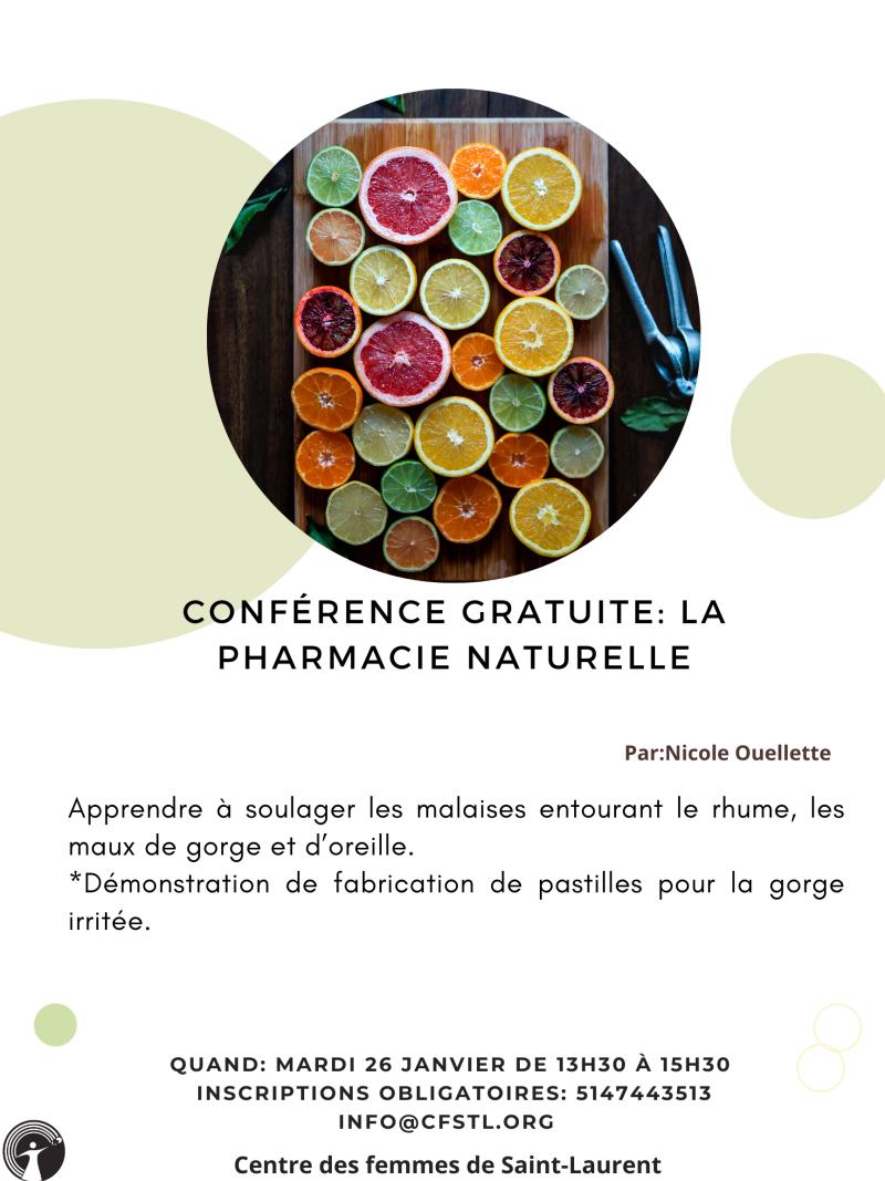 La pharmacie naturelle