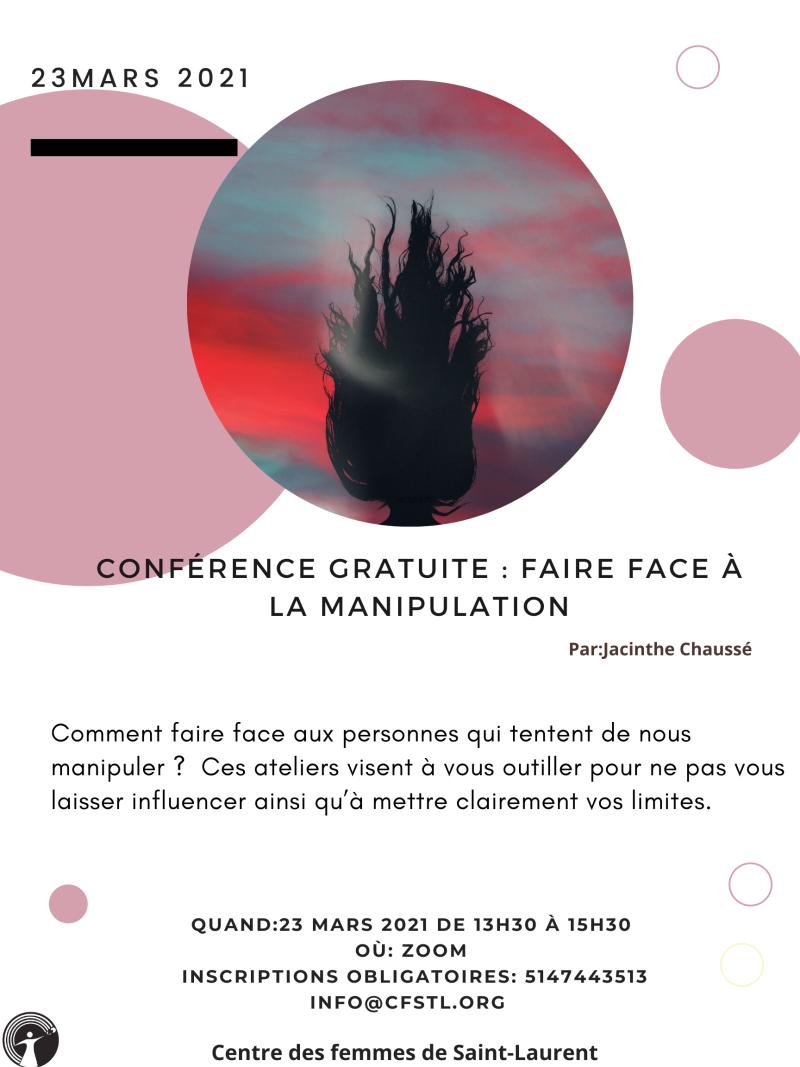 Conférence manipulation